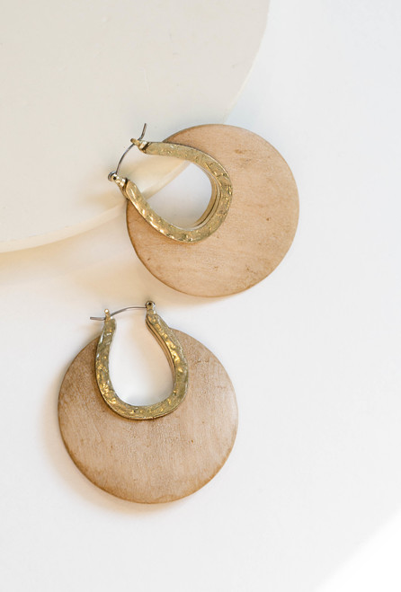 Ellery Earrings - Natural