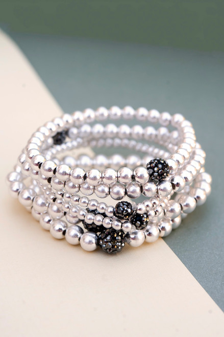 Angela Pisa Bead Bracelet Set