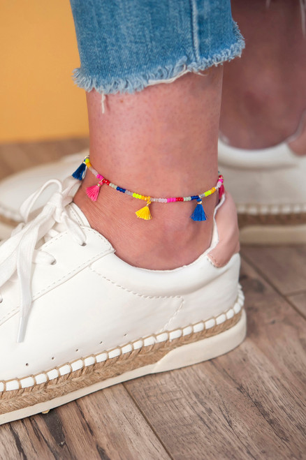 Jessica Anklet - Multicolor