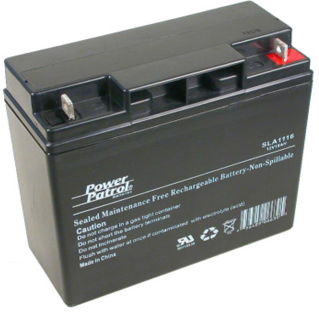 Interstate® Batteries Power Patrol® 12V 44Ah Maintenance-Free Rechargeable  Sealed Deep-Cycle VRLA/AGM Battery (SLA1161)