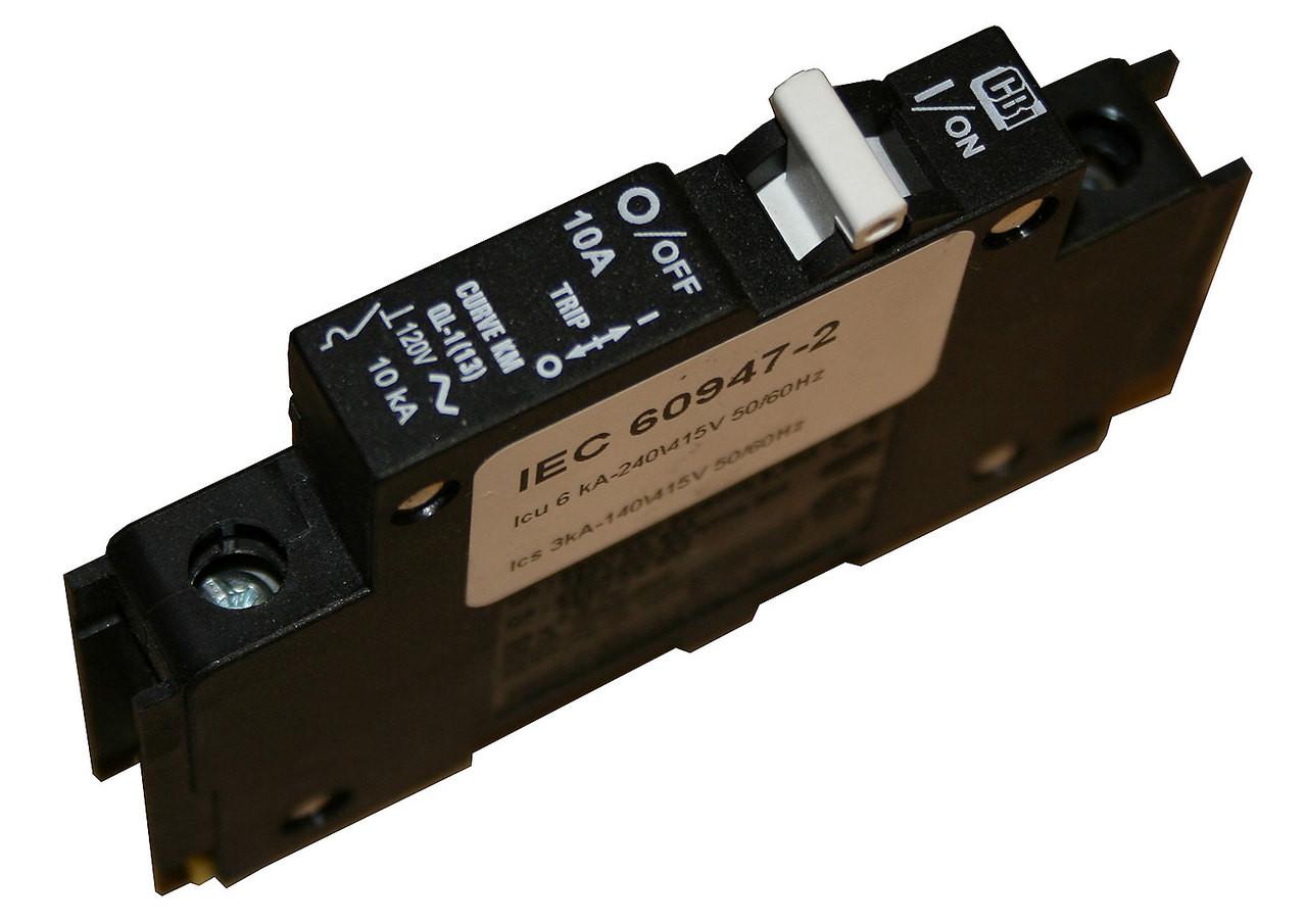 LOT OF 12 MIDNITE SOLAR MNEPV15 CIRCUIT BREAKER 15A 150VDC 1-POLE DIN MOUNT