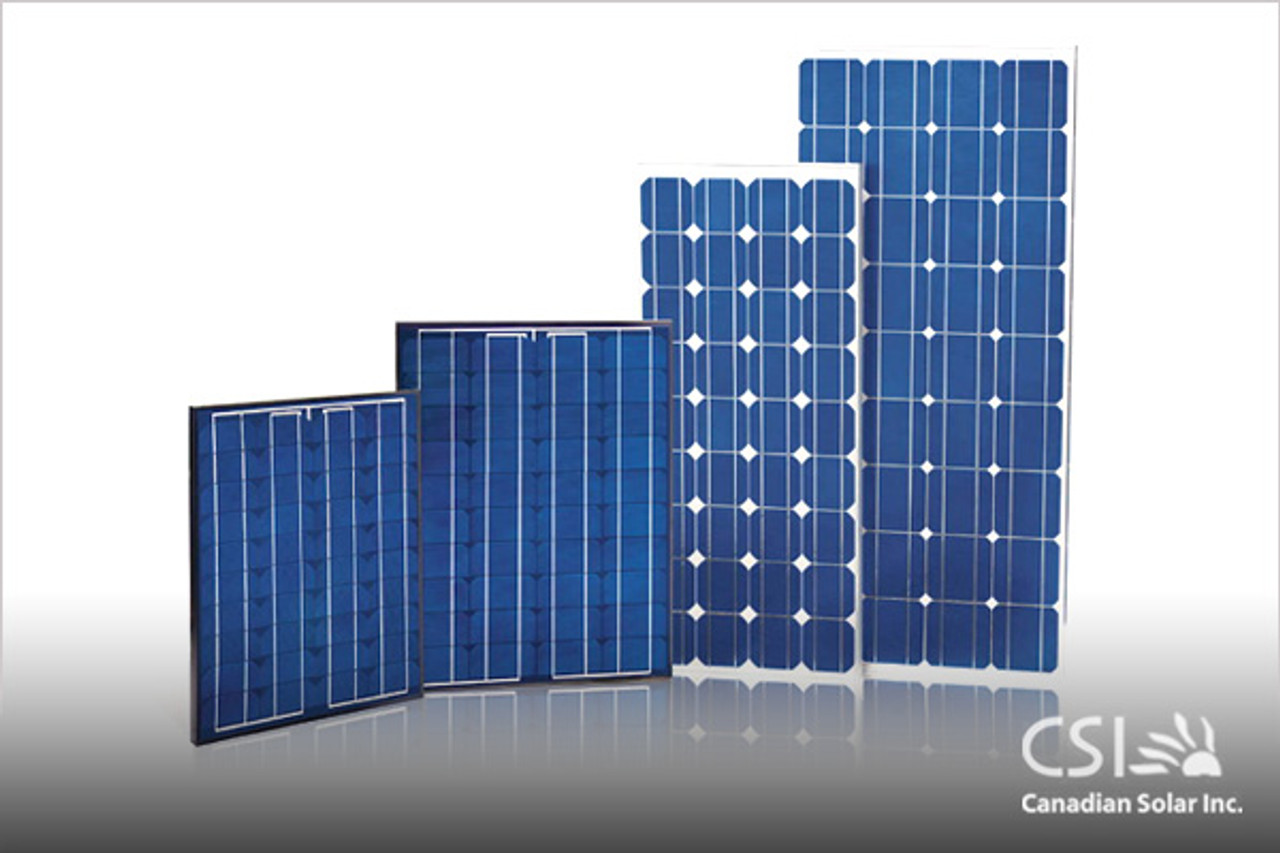 Canadian Solar CS6P-250P 250 Watt 24 Volt Poly Solar Panel