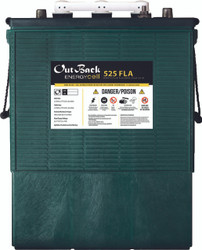 Outback EnergyCell 525FLA Flooded Lead Acid Battery