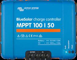 Victron Energy SCC110050210 SmartSolar 50 Amp 12/24V MPPT 100/50 Charge Controller