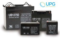 Universal Power 12V 100Ah AGM Battery
