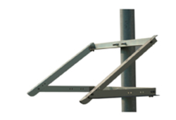 Solartech RAC-MC120S-6 Top of Pole Mount