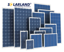 SolarLand SLP120-24U 120W 24V Solar Panel