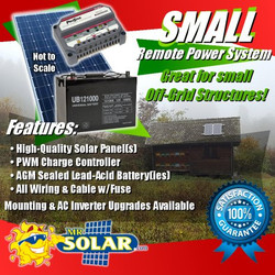 Mr. Solar® RemotePower 450 Watt Small Remote Power System Kit