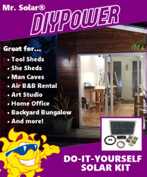 Mr. Solar® DIYPower 150 Watt Solar Panel Starter Kit