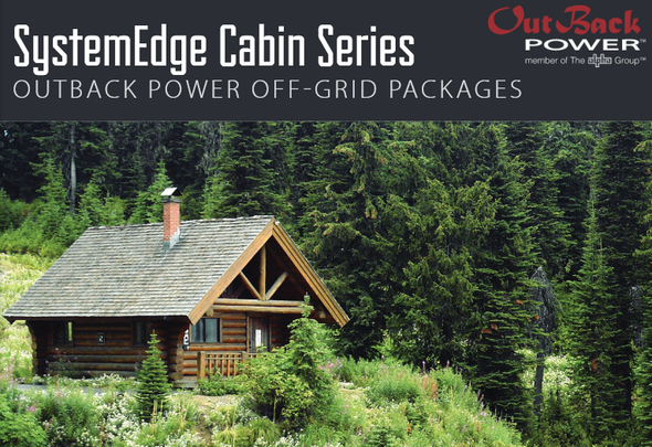 Need a power solution for your cabin or similar structure?  SystemEdge Cabin Series off-grid power packages are a great solution!