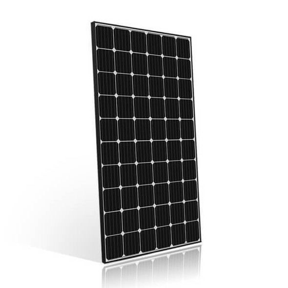 Peimar High Efficiency 310 Watt Mono 60-Cell Solar Panel w/ Black Frame