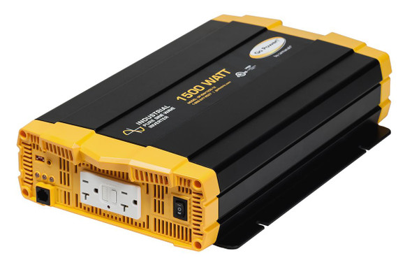 Go Power! GP-ISW1500-24 1500 watt, 24 volt pure sine wave inverter w/ two GFCI-equipped AC outlets