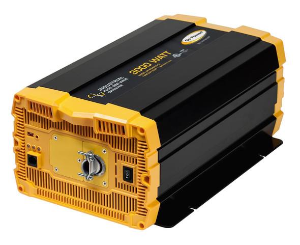 Go Power! GP-ISW3000-24 3000 watt, 24 volt pure sine wave inverter w/ hardwire connection