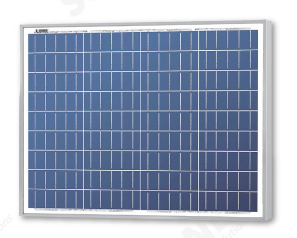 Solarland® SLP050-12U-MC 50W 12V Solar Panel with 3' MC4 Cable