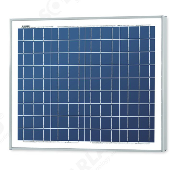 Solarland® SLP020-12 20W 12V C1D2 Solar Panel w/ 50mm Large Frame