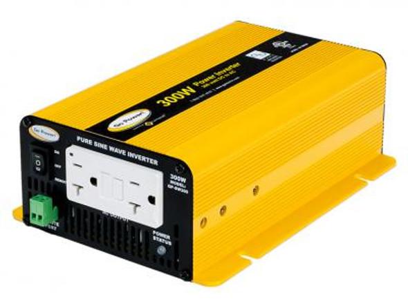 GO POWER! 300W Pure Sine Wave Inverter - 12V