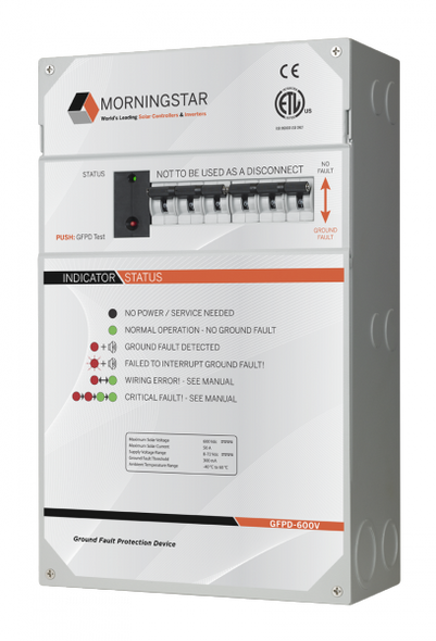Morningstar GFPD-600V Ground Fault Protection Device