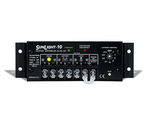 Morningstar SunLight SL-10L-24 Charge Controller