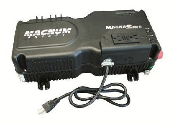 Magnum Energy MM1512AE MM-AE Series 1500 Watt, 12VDC Modified Sine Wave Inverter/Charger
