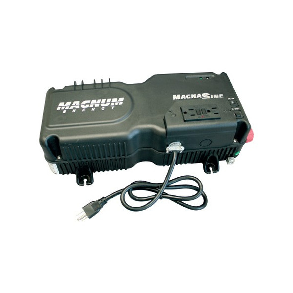 Magnum Energy MM612AE MM-AE Series 6000 Watt, 12VDC Modified Sine Wave Inverter/Charger