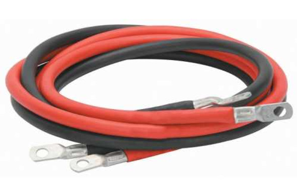 """60"""" #4AWG Battery to Inverter Cable"""
