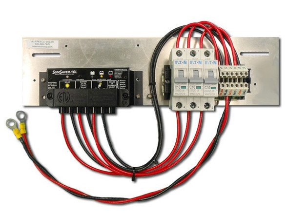 Prewired Backplate with SS-10L-12V Controller