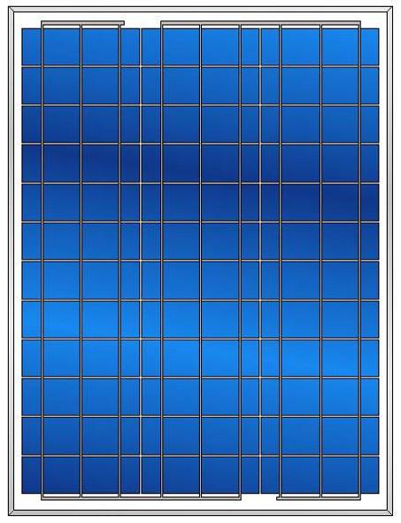 Value Line 50W 12V Solar Panel