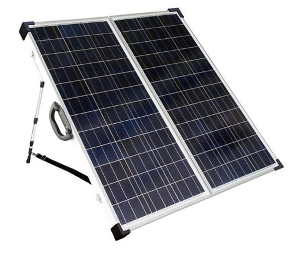 SolarLand SLP120F-12SUSB Portable Battery Charging Kit