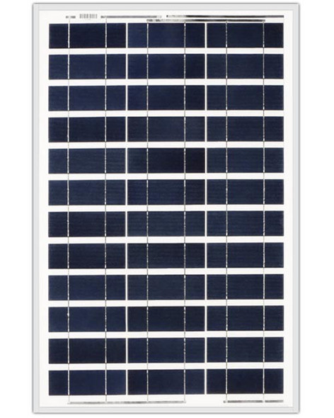 Ameresco Solar 60J 60 Watt, 12V Polycrystalline Solar Panel w/ IP65 Junction Box (AMS060J)