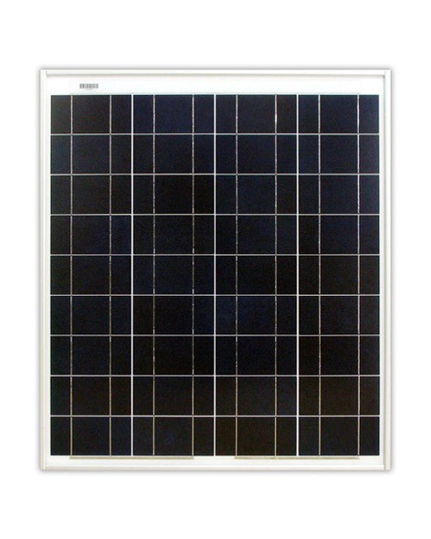 Ameresco Solar 65J 65 Watt, 12V Polycrystalline Solar Panel w/ IP65 Junction Box (AMS065J)