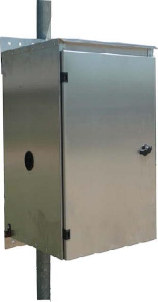 Value Line Powder Coated Aluminum Battery Box/Enclosure (VL-BB-2-PC)