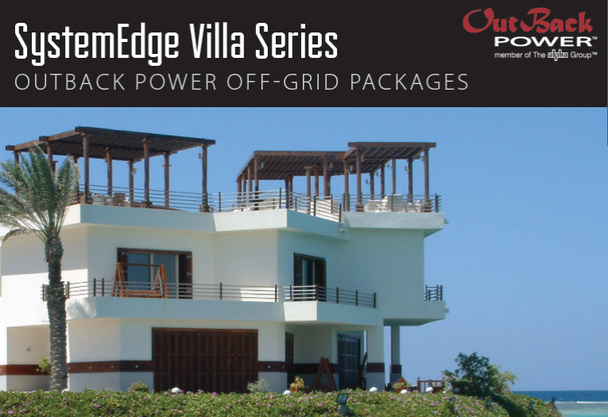 When you need a reliable power system no matter what nature may throw at you, depend on SystemEdge Villa Series to power your remote cottage or villa!