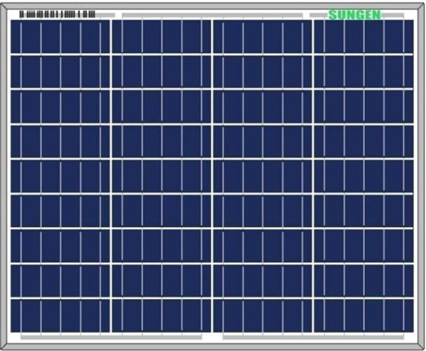 Sungen SG-P-50 50 Watt Solar Panel