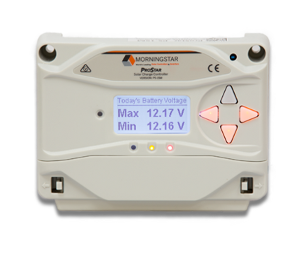 Morningstar ProStar™ 30 Amp 12/24V PWM Charge Controller (PS-30M)