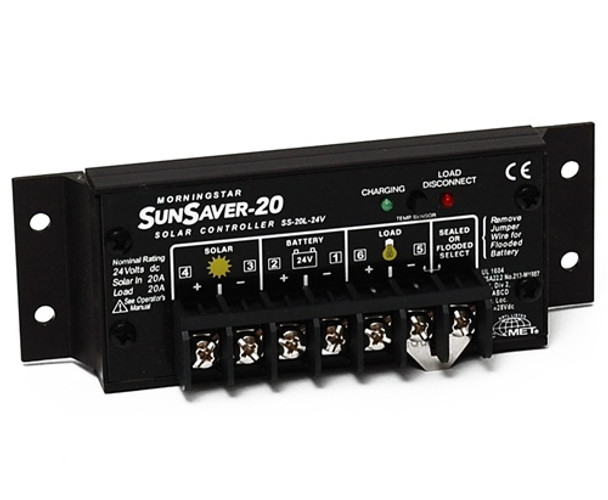 Morningstar SunSaver SS-20L-24 Charge Controller