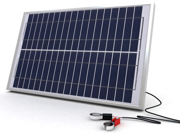SolarLand SLCK-020-12 Portable Battery Charging Kit