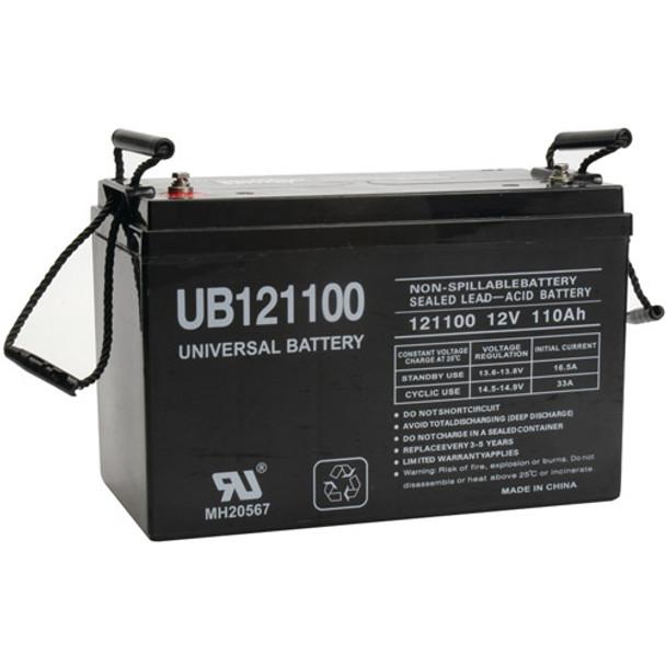 UPG Battery Bank (24VDC, 660Ah)