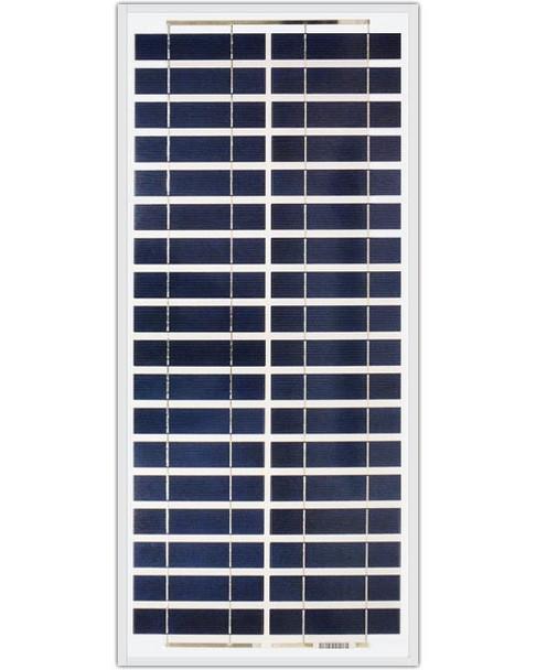 Ameresco Solar 30J 30 Watt, 12V Polycrystalline Solar Panel w/ IP65 Junction Box (AMS030J)