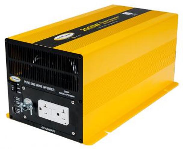 GO POWER! 2000W Pure Sine Wave Inverter - 12V