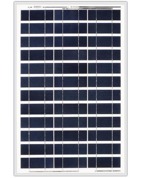 Ameresco Solar 60J 60 Watt, 12V Polycrystalline Solar Panel w/ IP65 Junction Box (AMS060J)
