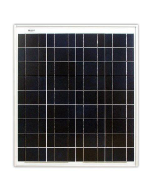 Ameresco Solar 65J 65 Watt, 12V Polycrystalline Solar Panel w/ IP65 Junction Box (AMS065J)