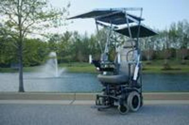 A Solar-Powered Wheelchair? Yaasssss!