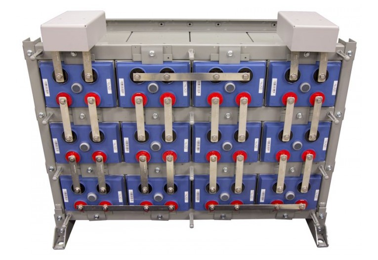 Outback EnergyCell 2700RE High Capacity Battery Bank w/ Racking