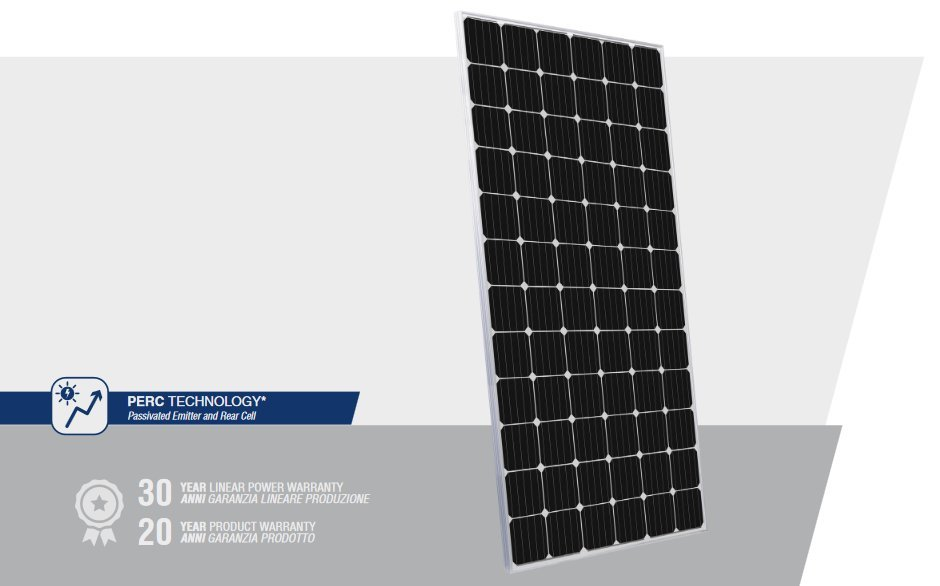 Peimar High Power 350 watt solar panel with PERC technology for higher-efficiency performance!
