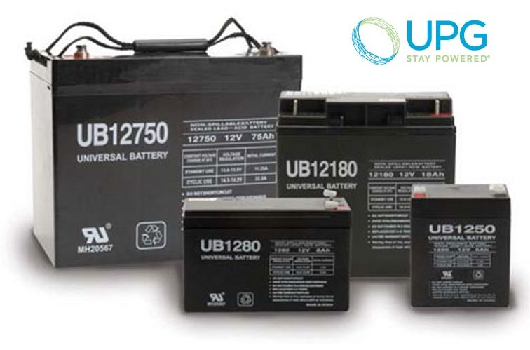 Universal Power 12V 55Ah AGM Battery