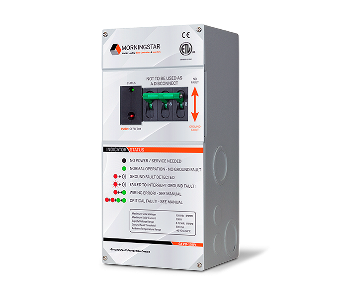 Morningstar GFPD-150V Ground Fault Protection Device