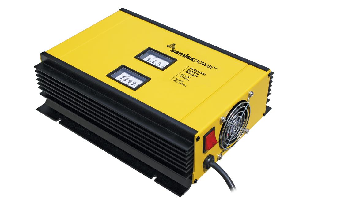 Samlex SEC-2440UL 40A 24V Battery Charger