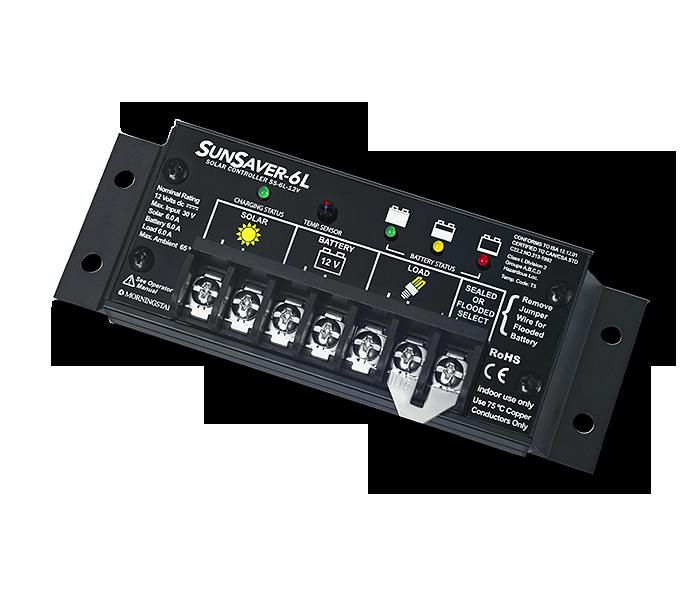 Morningstar SunSaver SS-6-12 Charge Controller