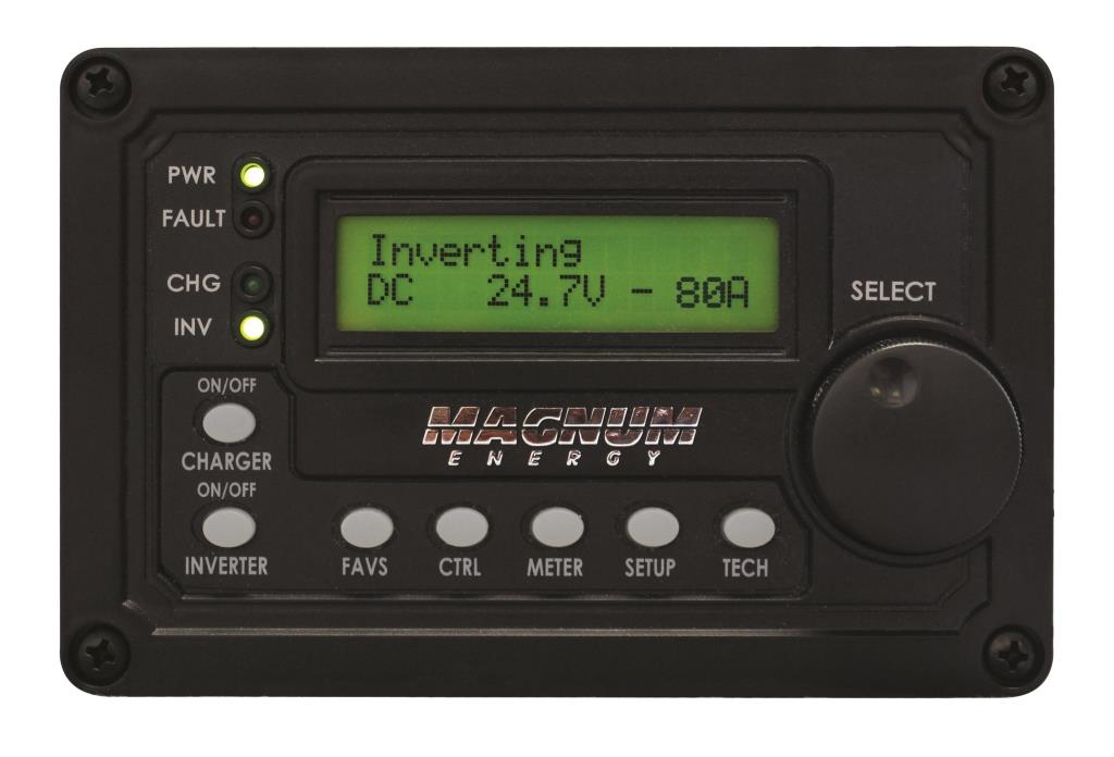 Magnum Advanced Digital LCD Display Remote Panel