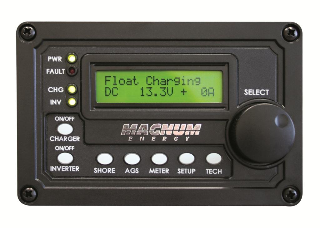 Magnum Digital LCD Display Remote Panel w/ 50' Cable
